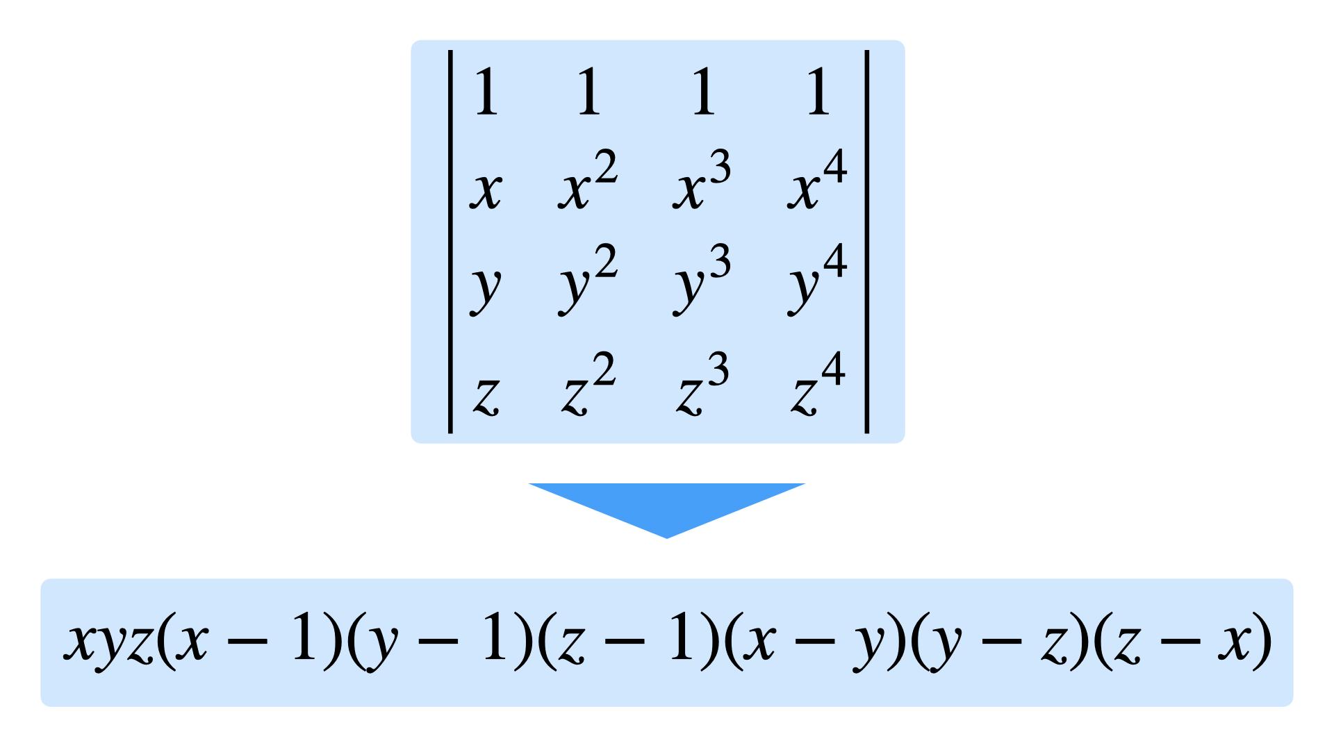 サラス の 公式